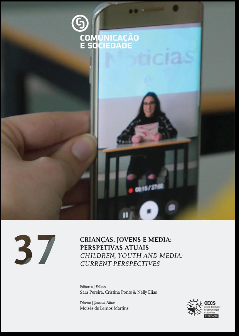 Ver Vol. 37 (2020): Crianças, jovens e media: perspetivas atuais
