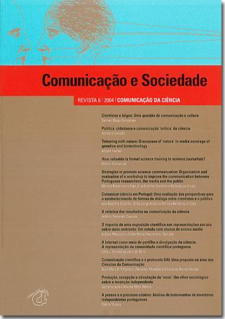 Ver Vol. 6 (2004): Comunicação da Ciência